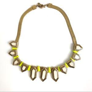 Madewell Modern Geometric Herringbone Necklace